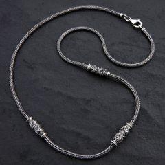 03. Geo-003 - SterlingSilver/Necklace