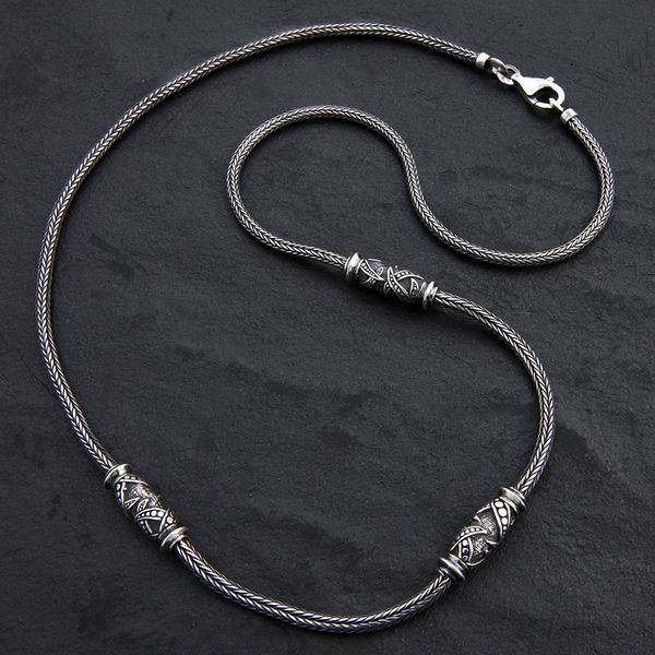 03. Geo-003 - Sterling Silver Necklace