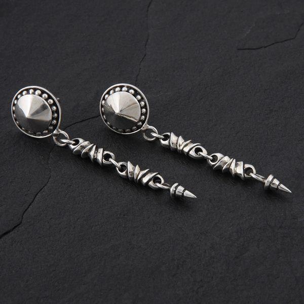 10. Geo-010 - Sterling Silver Post Earrings
