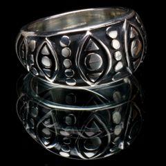 41. Geo 1 - Sterling Silver Ring