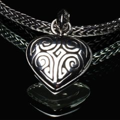 87. Ancient Design - Sterling Silver Pendant