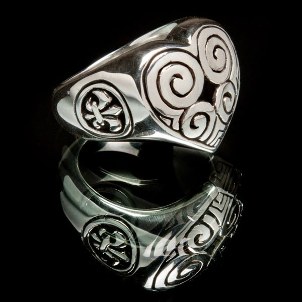 22. Heart - Sterling Silver Ring