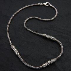01. Geo-001 - SterlingSilver/Necklace