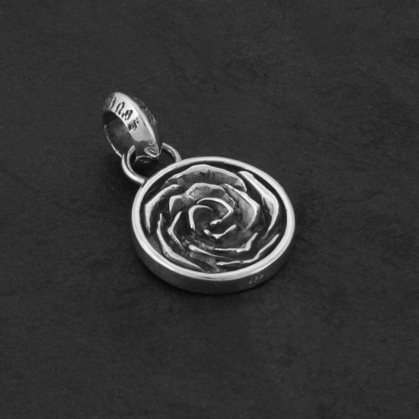 20. Rose - Sterling Silver Pendant