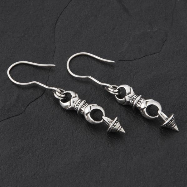 07. Geo-007 - SterlingSilver/DropEarrings