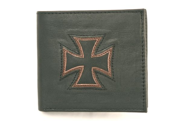 Maltese Cross - Leather Wallet - 1C