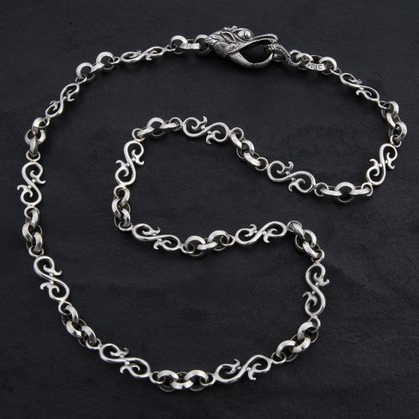 16. Geo-016 - Sterling Silver Necklace