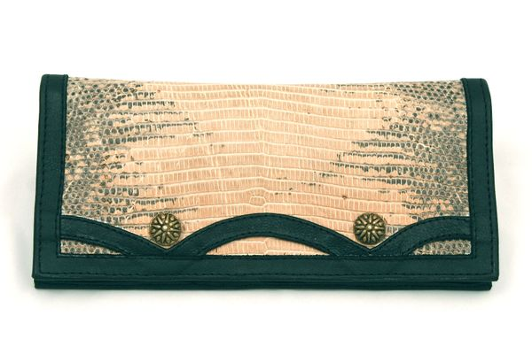 Lizard - Leather Wallet - 2B