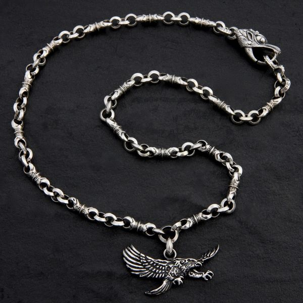 28. Eagle - Sterling Silver Necklace