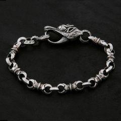 07. Geo-007 - Sterling Silver Bracelet