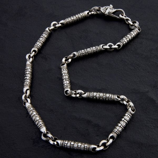 04. Geo-004 - Sterling Silver Necklace