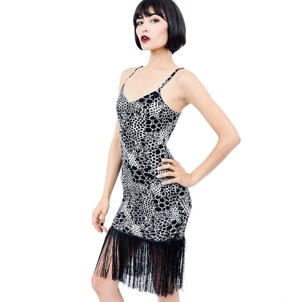 Dress 11R - Dragon Skin - Fringe Dress