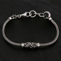 03. Geo-003 - Sterling Silver Bracelet
