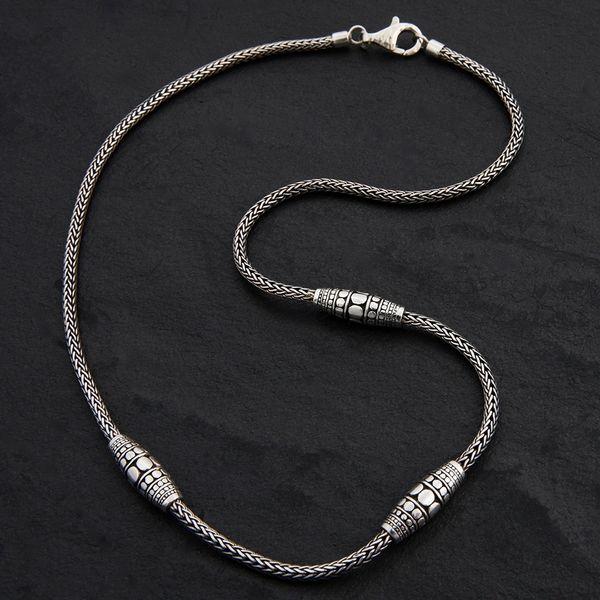 02. Geo-002 - SterlingSilver/Necklace