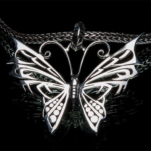 35. Butterfly - Sterling Silver Pendant