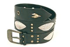 Snake - Leather Belt - 1O