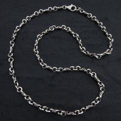 12. Geo-012 - SterlingSilver/Necklace