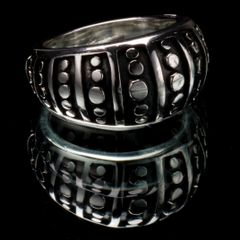 43. Geo 3 - Sterling Silver/Ring