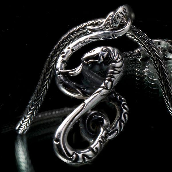 34. Snake - Sterling Silver Pendant
