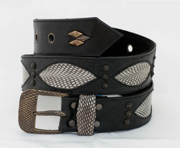 Snake - Leather Belt - 1D