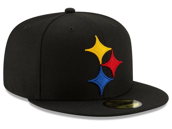 New Era NFL 59FIFTY Logo Elements Collection Pittsburgh Steelers Fitted Cap 9c2480ff39e