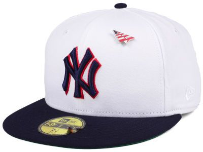 0368bca5d35c9 New Era MLB 59FIFTY Paper Plane X Americana Yankees Fitted Cap ...