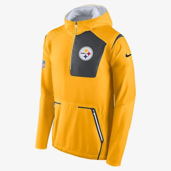 c0501c0bce28c Nike NFL Alpha Fly Rush Pittsburgh Steelers Jacket