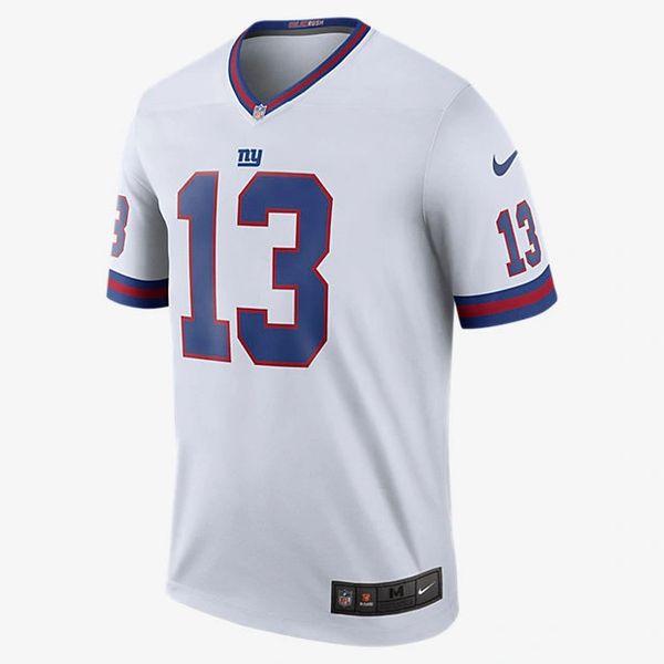 Nike Nfl Color Rush Legend New York Giants Beckham Jr Jersey Pure