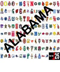 College Team colors Siser HTV or Oracal 651 packs ~ Alabama