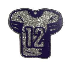 Football Jersey Clear Acrylic Blank