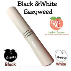 Black & White Siser Easyweed HTV Pack