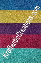 Jeweltone colors Glitter HTV Pack