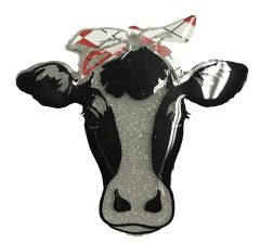 Cow with Bandana Clear Acrylic Blank