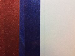 Patriotic/4th of July Glitter HTV Bundle