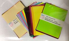 """Siser Easyweed HTV ~ One of Every Colors 46 pcs 6x7.5"""""""