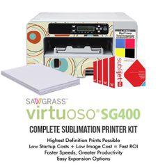 Sawgrass Virtuoso SG400 Complete Sublimation Printer Kit