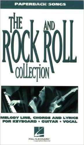 The Rock and Roll Collection Paperback Songs Music book