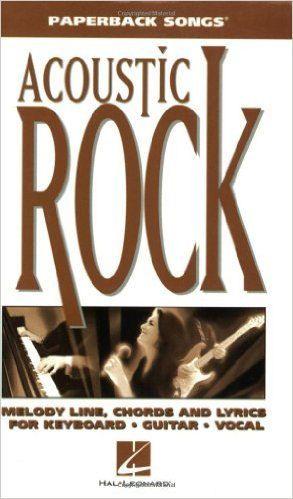 Acoustic Rock Paperback Songs Book Hal Leonard Guitar Stop Guitar