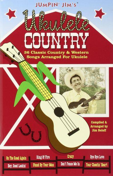 Jumpinjims Ukulele Country Music Book Hal Leonard Guitar Stop