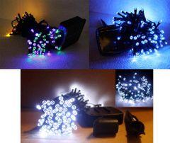 2-Pack Solar 60/100/120 LED Fairy Light String For Xmas Party Wedding Garden Decor