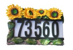 Solar House Address Number With LED Light - GREAT GREEN GIFT!!!
