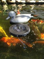 Solar Powered Floating Oxygenator Air Pump Oxygen for Pool Pond