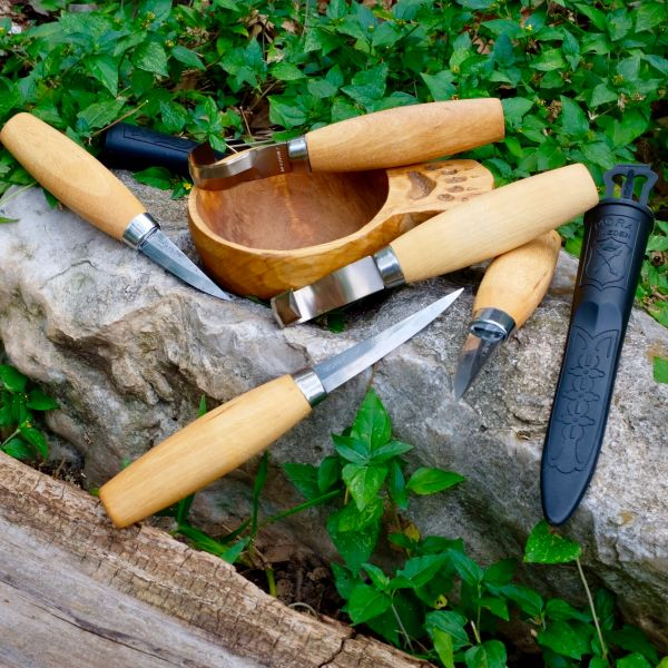Product Wood Carving Knife: Mora 106, 120, 162 And 164 Wood Carving Knives