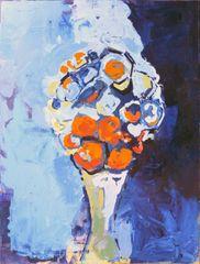 1901-01v Bluebird and Backhoe Bouquet for LK | JK Thorsen