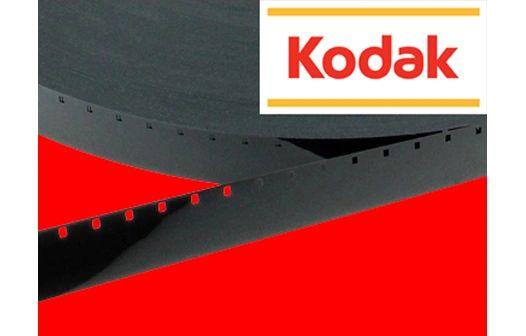 Kodak Black Mylar Movie Leader - 16mm Single Perf. 100 ft. (Limited Availability)