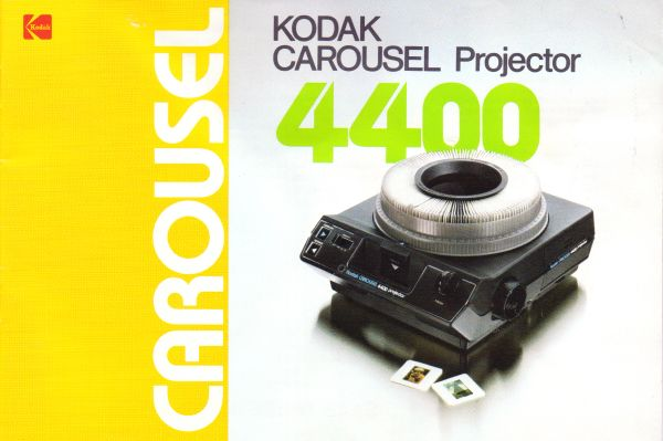 Instruction Manual: Kodak 4400 Carousel Slide Projector