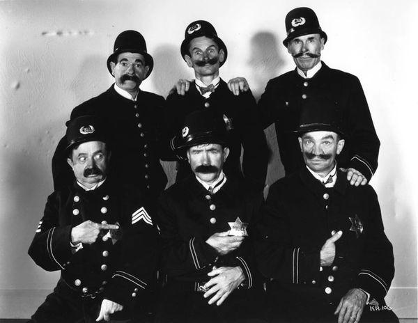 Keystone Hotel starring Ben Turpin & The Keystone Cops (Super 8mm B/W Silent Print)
