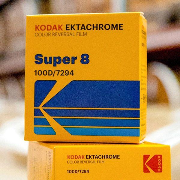 Kodak Ektachrome 100D Color Reversal Film Super 8mm 50 ft. Cartridge (Re-Released by Popular Demand!)