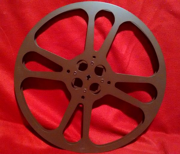 Goldberg 16mm 2300 ft. Metal Movie Reel