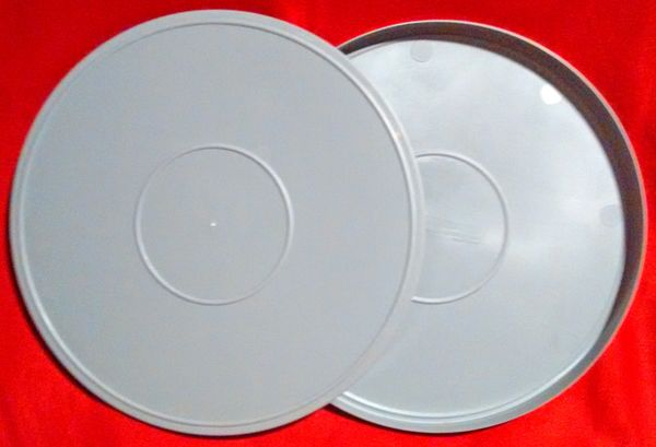 TayloReel 16mm 1600 ft. Plastic Film Can